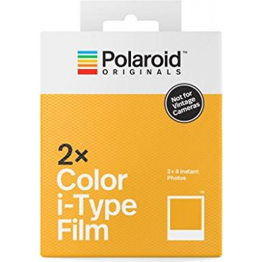 Polaroid Film Color i-Type Sofortbildfilm 2er-Pack (659004836)